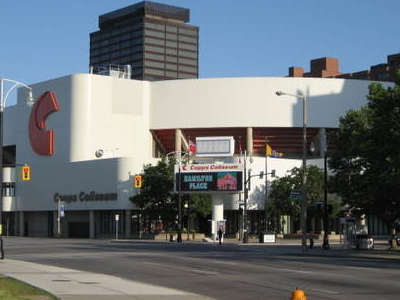 Copps Coliseum York Boulevard