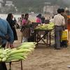 Corn Vendors On Chowpatty Beach