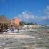 The Beach At Costa Maya Port