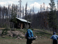 Cougar Creek Patrol Cabin