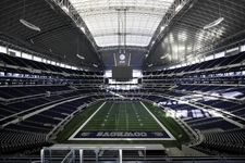 Cowboys Stadium Interior