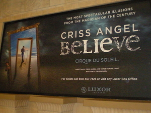 Criss Angel® Believe™ by Cirque du Soleil® at Luxor Las Vegas Photos