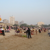 Crowded Chowpaty Beach
