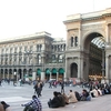 Crowds At Piazza Del Duomo - Milan