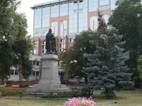 Csokonai Statue