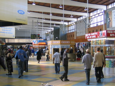 The Terminal Of Cape Town Station