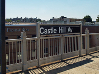 Castle Hill Avenue IRT Pelham Line Station