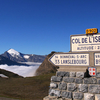 Signpost At The Col De L\\\'Iseran