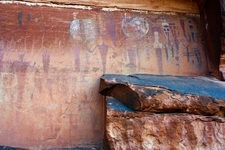 Courthouse Wash Pictographs