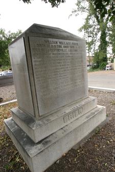 Brier Tombstone Memorial