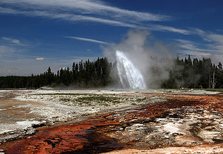 Daisy Geyser - Yellowstone - Wyoming - USA