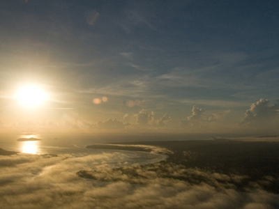Dawn Over French Guiana Coast