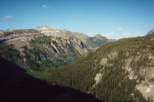 Death Canyon From Shelf - Grand Tetons - Wyoming - USA