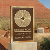 Desert Rose Labyrinth Sign