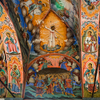 Detail Of One Of The Frescoes