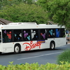Disney Bus In Walt Disney World Florida