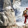 Dolomites - Climbing Torre Di Toblin