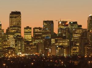 Downtown Calgary