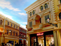 Downtown Macau Shopping