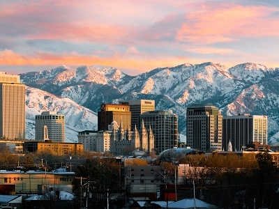 Downtown Salt Lake City UT