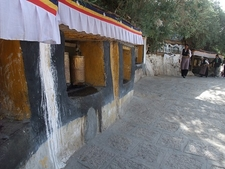 Drepung Prayer Wheels