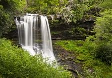 Dry Falls In Blue Ridge Mountains NC