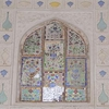 Glass & Wall Paintings At Amber Fort
