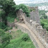 Golconda Fort Wall With Parapet