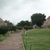 Walkway & Gardens Outside Stupas
