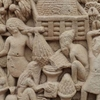 Rock-Cut Sculptures At Sanchi