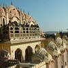 Inner Terraces Of Hawa Mahal
