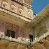 Amber Fort Palace Balconies