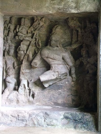 Elephanta Caves Idol Ruins