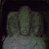 Elephanta Caves Popular Maheshwara Figure