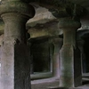 Elephanta Caves Rock Cut Pillars