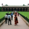 Gardens & Red Fort Stucture