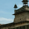 Jehangir Mahal Terrace Chhatris