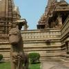 Lakshmi Temple Courtyard Sculpture