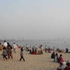 Chowpaty Beach Crowd