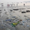 Pollution At Chowpaty Beach