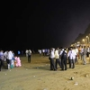 Juhu Beach - Lit After Dark