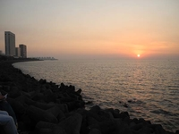 Sundown From Marine Drive