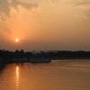 Sunset At Hussain Sagar