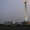 MONAS With Jakarta Skyline In The Backdrop