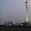 MONAS With Jakarta Skyline In The Backdrop