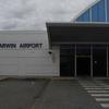 Darwin Airport Plaque