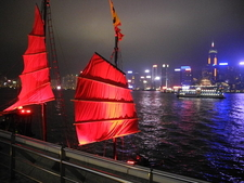 Sails - Hong Kong Harbor Views