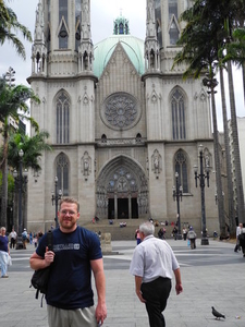 David Urmann - Outside Catedral Sao Paulo