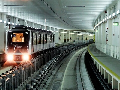 Dubai International Airport Metro