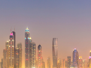 Night Wonders of Dubai Photos